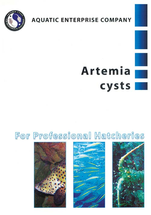 Artemia cysts cover